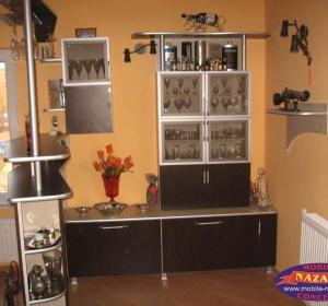 Nazage-Construct S.R.L.- Mobilier MDF, Pal, Lemn Masiv, Birou, Bucatarie, Dormitor, Hol, Horeca, Jaluzele, Canapele, Comode, Dressing - Botosani